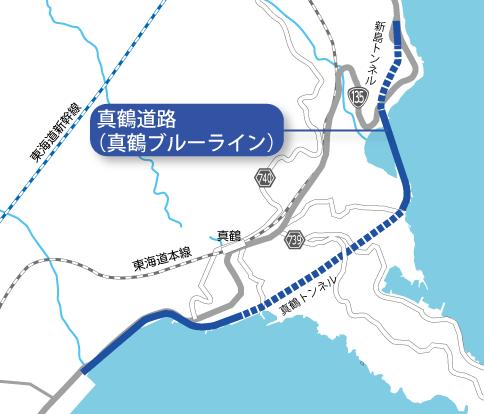 真鶴道路マップ