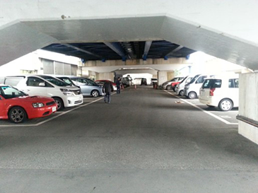 森崎大橋駐車場