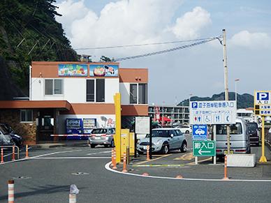 逗子海岸駐車場
