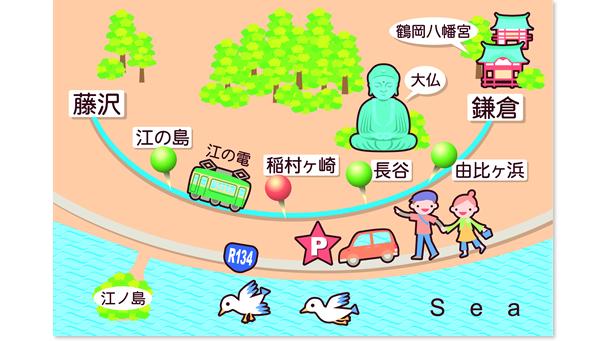 江ノ島・鎌倉へ